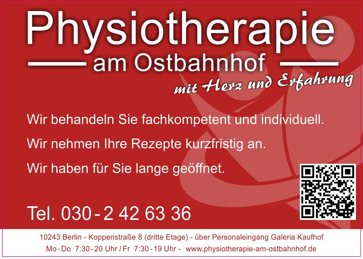 physiotherapie am ostbahnhof in berlin friedrichshain. Black Bedroom Furniture Sets. Home Design Ideas